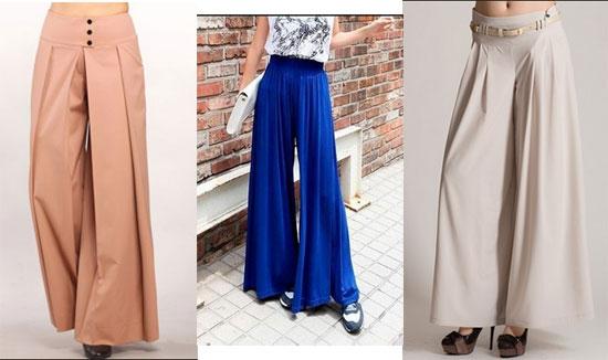 Как сшить юбка брюки широкая