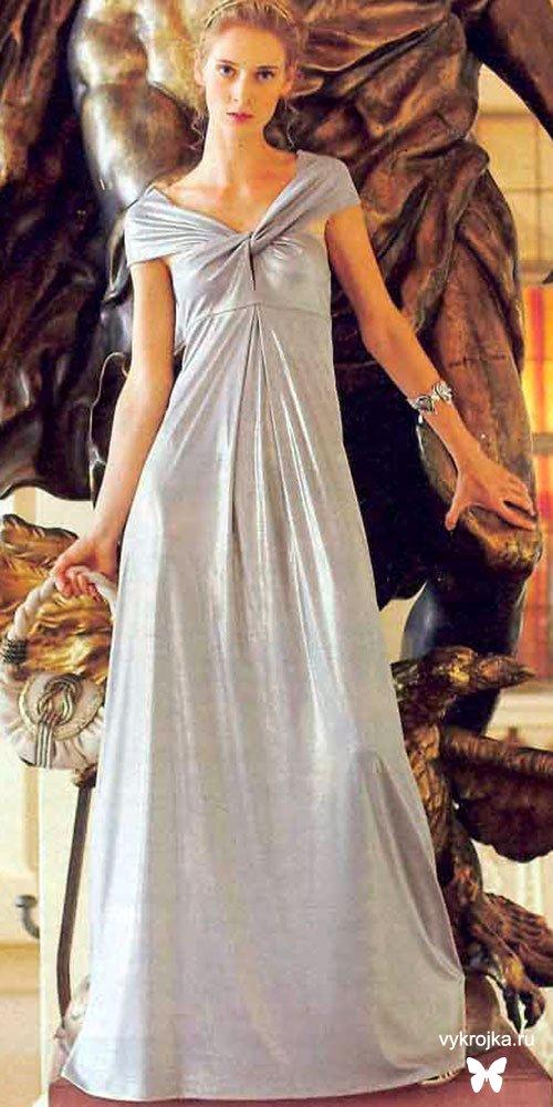Вечерние платье выкройка