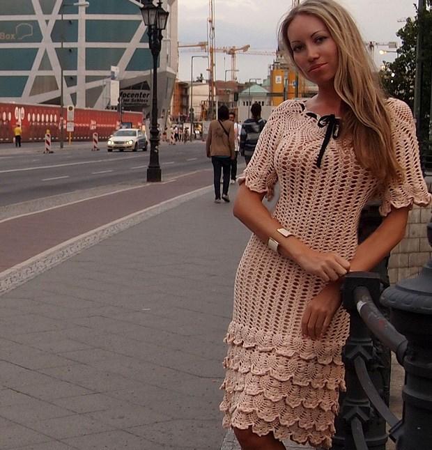 Вязанные Платья И Сарафаны Лето 2017