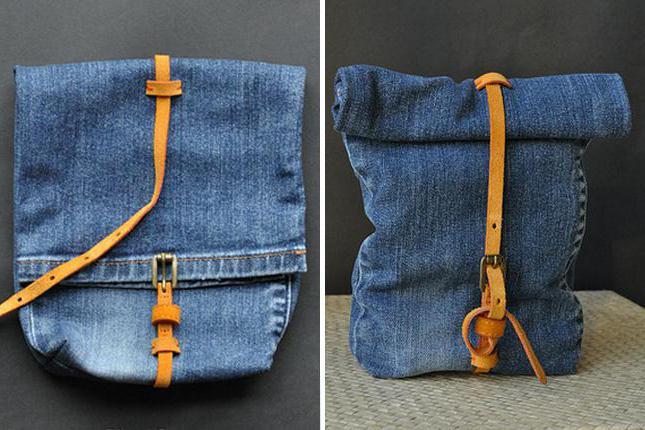Сумка из джинс своими руками из штанин