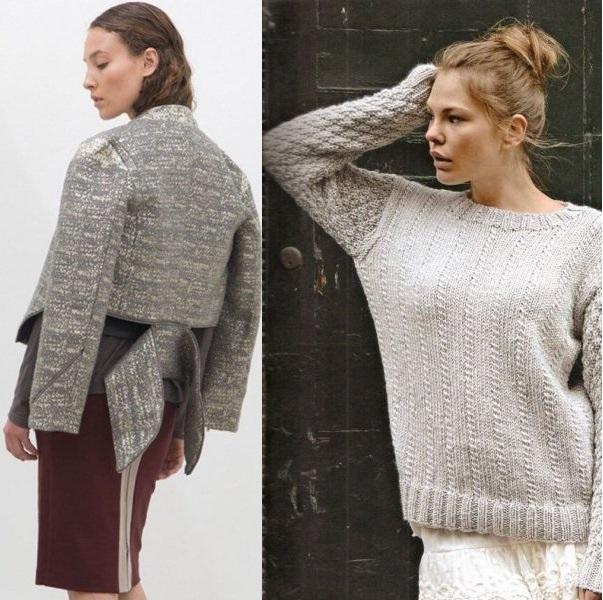 Модные вязаные джемпера 2015 доставка