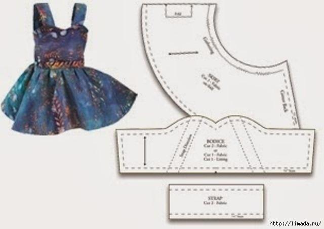 Как шить платье для барби своими руками для начинающих