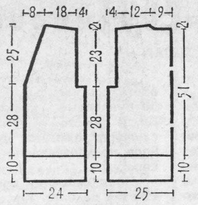 Выкройка жилетки женской джинса: осинка шитье. Широких женских летних