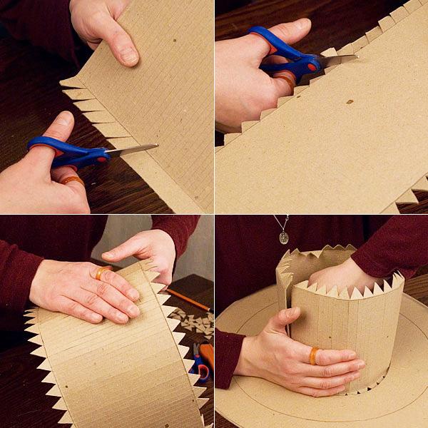 Как сделать шляпу своими руками поэтапно