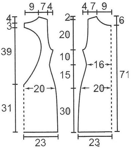 Платье с кружевом выкройки
