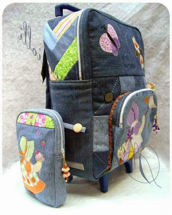 Рюкзаки из джинсов для начинающих