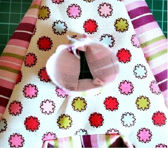 Как самой сшить подушку букву