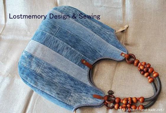 Сумка из джинсовой ткани своими руками мастер класс