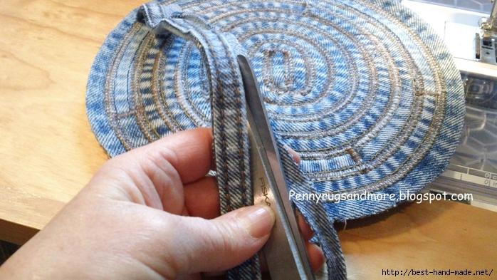 Плетеное полотно своими руками