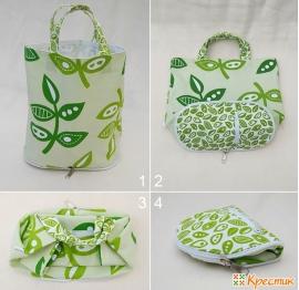 6a2c5b459e27 Стильные и удобные сумки из ткани своими руками: мастер-класс по пошиву